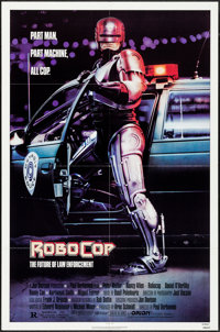 """RoboCop (Orion, 1987). One Sheet (27"""" X 41"""") SS, Mike Bryan Artwork. Action"""