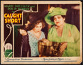 "Movie Posters:Comedy, Caught Short (MGM, 1930). Lobby Card (11"" X 14""). Comedy.. ..."