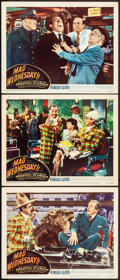 "Movie Posters:Comedy, Mad Wednesday (RKO, R-1950). Lobby Cards (3) (11"" X 14""). Comedy.. ... (Total: 3 Items)"