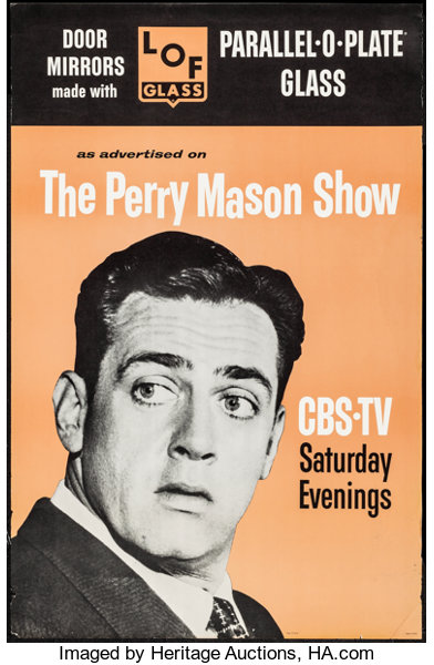The Perry Mason Show for LOF Glass (CBS/LOF Glass, 1960s