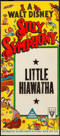 "Movie Posters:Animation, Silly Symphony (RKO, 1938). Full-Bleed Stock Australian Daybill (13"" X 30""). ""Little Hiawatha."" Animation.. ..."