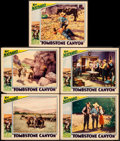 "Movie Posters:Western, Tombstone Canyon (Sono Art-World Wide Pictures, 1932). Lobby Cards (5) (11"" X 14""). Western.. ... (Total: 5 Items)"