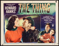 """The Thing from Another World (RKO, 1951). Lobby Card (11"""" X 14""""). Science Fiction"""