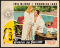 """Movie Posters:Comedy, Sullivan's Travels (Paramount, 1941). Lobby Card (11"""" X 14"""").Comedy.. ..."""