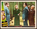 "Movie Posters:Mystery, The Woman in Green (Universal, 1945). Lobby Card (11"" X 14""). Mystery.. ..."