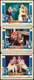 """Movie Posters:Comedy, Wise Girls (MGM, 1929). Very Fine-. Lobby Cards (3) (11"""" X 14""""). Comedy.. ... (Total: 3 Items)"""