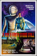 "Movie Posters:Science Fiction, The Day the Earth Stood Still (20th Century Fox, R-1994). One Sheet (27"" X 41"") Robert Rodriguez Artwork. Science Fiction.. ..."