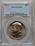 1977 50C MS67 PCGS. PCGS Population: (39/0). NGC Census: (32/1). CDN: $135 Whsle. Bid for problem-free NGC/PCGS MS67. Mi...