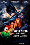 """Movie Posters:Action, Batman Forever (Warner Brothers, 1995). One Sheet (27"""" X 40"""") John Alvin and Page Wood Artwork. Action.. ..."""