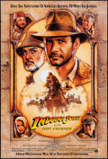 "Movie Posters:Action, Indiana Jones and the Last Crusade (Paramount, 1989). Rolled, Very Fine-. One Sheet (27"" X 40"") SS, Advance. Drew Struzan Ar..."