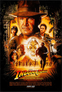 """Indiana Jones and the Kingdom of the Crystal Skull (Paramount, 2008). One Sheet (27"""" X 40"""") SS Advance, Drew S..."""