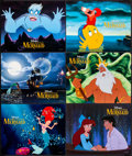 "Movie Posters:Animation, The Little Mermaid (Buena Vista, 1989/R-1998). Lobby Cards (13)(11"" X 14""). Animation.. ... (Total: 13 Items)"