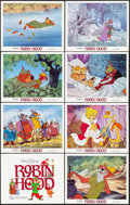 """Movie Posters:Animation, Robin Hood (Buena Vista, R-1982). Lobby Card Set of 8 (11"""" X 14""""). Animation.. ... (Total: 8 Items)"""
