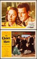 "Movie Posters:Drama, The Quiet Man & Other Lot (Republic, 1952). Lobby Cards (2)(11"" X 14""). Drama.. ... (Total: 2 Items)"