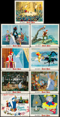 """Movie Posters:Animation, The Sword in the Stone (Buena Vista, 1963). Lobby Card Set of 9 (11"""" X 14""""). Animation.. ... (Total: 9 Item)"""