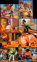 """Movie Posters:Animation, Toy Story (Buena Vista, 1995). International Lobby Card Set of 8 (11"""" X 14""""). Animation.. ... (Total: 8 Items)"""