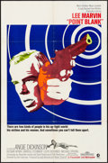 """Movie Posters:Crime, Point Blank (MGM, 1967). Folded, Very Fine. One Sheet (27"""" X 41""""). Crime.. ..."""