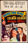 "Movie Posters:Adventure, Under Two Flags (20th Century Fox, 1936). Window Card (14"" X 22""). Adventure.. ..."