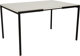 Florence Knoll (American, born 1917) T-Angle Dining Table, designed 1952, Knoll Associates Laminate and enameled steel...