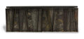 Furniture , Paul Evans (American 1931-1987). Deep Relief Wall Cabinet, circa 1965, Directional. Welded and enameled steel, slate, wo...