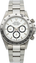 "Timepieces:Wristwatch, Rolex, Oyster Perpetual Cosmograph ""Zenith"" Daytona, Ref. 16520,Stainless Steel, Circa 1999. ..."