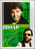 """Movie Posters:Rock and Roll, Give My Regards to Broad Street (20th Century Fox, 1987). Italian 2 - Fogli (39.5"""" X 55""""). Rock and Roll.. ..."""