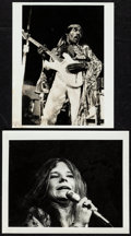 """Movie Posters:Rock and Roll, Jimi Hendrix & Other Lot (c. 1960s). Photos (2) (8"""" X 10""""). Rock and Roll.. ... (Total: 2 Items)"""