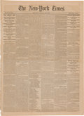 Miscellaneous:Newspaper, New York Times Newspaper with News from Chancellorsville....