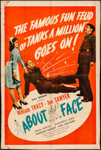 "About Face (United Artists, 1942). One Sheet (27.5"" X 40.5""). Comedy"