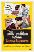 "Movie Posters:Comedy, Strange Bedfellows & Other Lot (Universal, 1965). Folded, Fine/Very Fine. One Sheets (2) (27"" X 41""). Comedy.. ... (Total: 2 Items)"