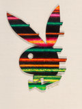 Other, Ed Paschke (American, 1939-2004). Playboy 40th Anniversary Logo, 1993. Acrylic on board. 21 x 15.5 in.. Signed. ...
