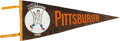 "Baseball Collectibles:Others, 1925 Max Carey Signed Pittsburgh Pirates ""World's Champions"" Pennant...."