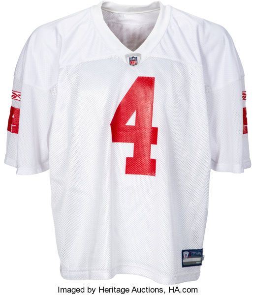 outlet store c5282 eed9d 2008 Brett Favre Signed AFC Pro Bowl Practice Issued Jersey ...