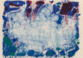 Fine Art - Work on Paper:Print, Sam Francis (1923-1994). Happy Death Stone (SF-10), 1960. Lithograph in colors on Rives BFK paper. 24-3/4 x 35-1/2 inche...