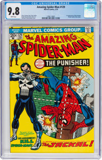 The Amazing Spider-Man #129 (Marvel, 1974) CGC NM/MT 9.8 White pages