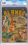 Golden Age (1938-1955):Science Fiction, Planet Comics #14 (Fiction House, 1941) CGC GD/VG 3.0 Slightly brittle pages....