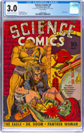 Golden Age (1938-1955):Science Fiction, Science Comics #4 (Fox, 1940) CGC GD/VG 3.0 Cream to off-white pages....