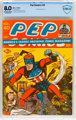Pep Comics #40 (MLJ, 1943) CBCS VF 8.0 Off-white to white pages