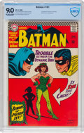 Silver Age (1956-1969):Superhero, Batman #181 (DC, 1966) CBCS VF/NM 9.0 Off-white to white pages....
