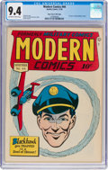 Golden Age (1938-1955):War, Modern Comics #44 Mile High Pedigree (Quality, 1945) CGC NM 9.4Off-white to white pages....