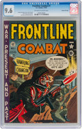 Golden Age (1938-1955):War, Frontline Combat #1 Gaines File Pedigree 8/9 (EC, 1951) CGC NM+ 9.6Off-white to white pages....