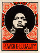 Shepard Fairey (American, b. 1970) Afrocentric (Red), 2007 Screenprint in colors on cream speckled paper 24 x 18 inch