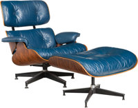 Charles Eames (American, 1907-1978) and Ray Kaiser Eames (American, 1912-1988) Special-Order 670 Armchair and 6