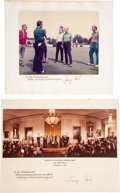Autographs:U.S. Presidents, Gerald Ford Signed Photo and Jimmy Carter Signed Photo.... (Total:2 Items)