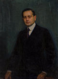 Fine Art - Painting, American, Joseph Kleitsch (American, 1882-1931). Portrait of Charles F.W.Nichols, 1920. Oil on canvas. 40 x 30 inches (101.6 x 76...(Total: 2 Items)