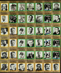Autographs:Sports Cards, Signed 1985-88 Football Immortals Card Collection (190)....