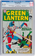 Silver Age (1956-1969):Superhero, Green Lantern #1 (DC, 1960) CGC VF 8.0 Off-white to white pages....