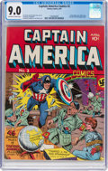 Golden Age (1938-1955):Superhero, Captain America Comics #2 (Timely, 1941) CGC VF/NM 9.0 Off-white to white pages....