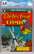 Golden Age (1938-1955):Superhero, Detective Comics #76 (DC, 1943) CGC FN 6.0 Off-white to white pages....