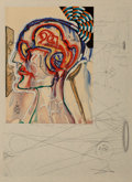 Prints & Multiples, Salvador Dalí (1904-1989). Imaginations and Objects of the Future, deluxe edition with special etching Dalinian Prophe...